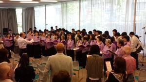 JyoJyoと皆さんでフィナーレの大合唱。